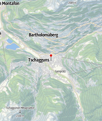 Karte / Auszeit Montafon