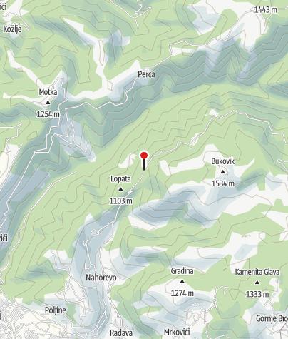 Mapa / Planinska koliba Hotel Promaja