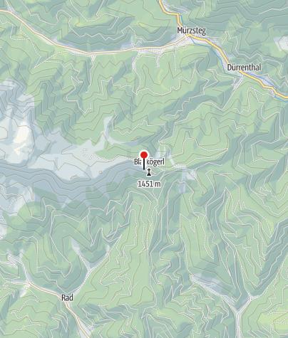 Karte / Kleinveitschalm Hütte