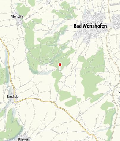 Karte / Natur-Kneipptretanlage Kneippwaldweg