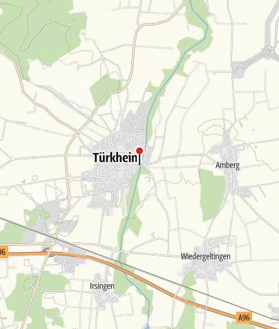 Karte / Kneippanlage in Türkheim an der Wertach