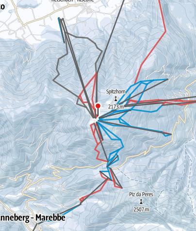 Cartina / Plan de Corones