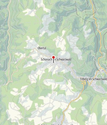 Karte / Schonach Haus des Gastes
