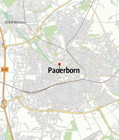 Karte / Ibis Hotel Paderborn