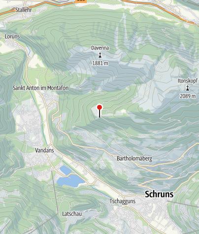 Map / Alpengasthaus Rellseck