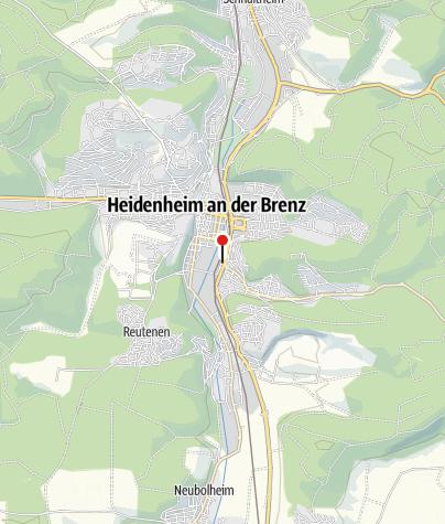 Karte / Hotel Linde