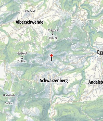 Karte / Gasthof Frohe Aussicht
