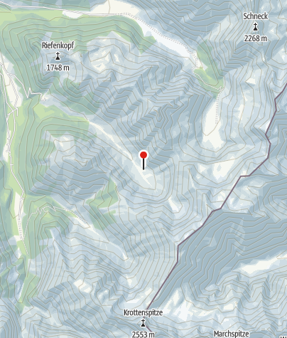 Map / Dietersbach-Alpe