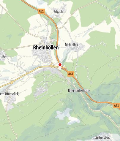 Karte / Autohof Rheinböllen