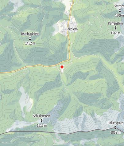 Karte / Herzogliche Fischzucht Kreuth