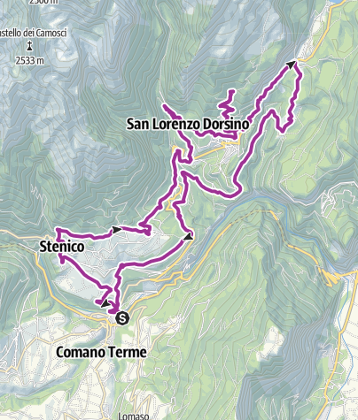 Map / Ebike tour through the Banale highland
