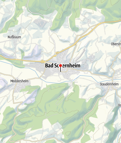 Map / Bad Sobernheim Bahnhof
