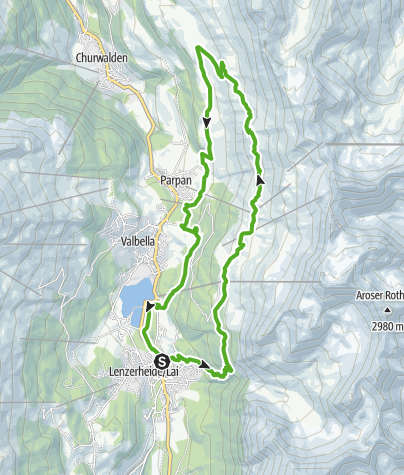 Map / 751 Panoramaweg Scharmoin