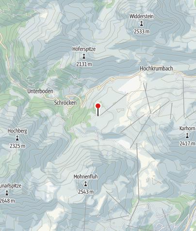 Mapa / Berghotel Körbersee.