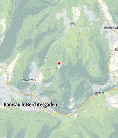 Karte / Berggaststätte Hirschkaser