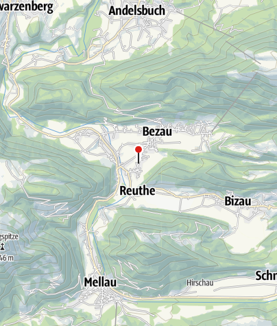 Kaart / Heimatmuseum (Denkmalhof) Bezau