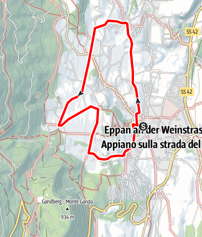 Mapa / Eppaner Ansitze