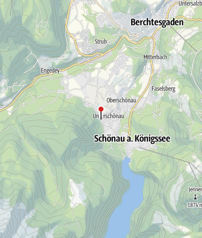 Karte / Grünsteinstüberl am Punzeneck