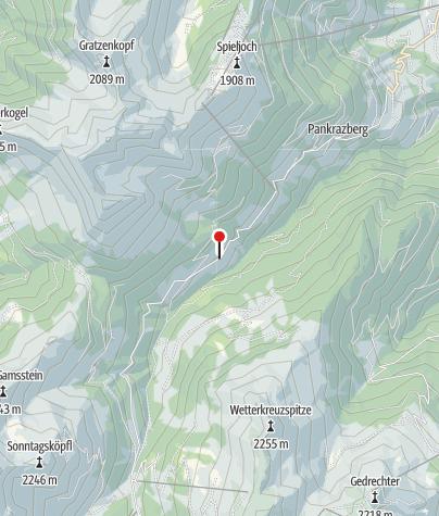 Kaart / Schellenberg Alm