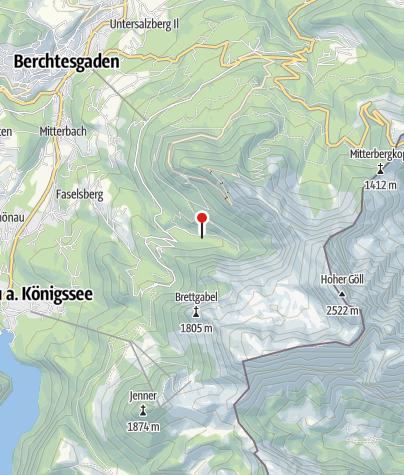 Karte / Scharitzkehlalm