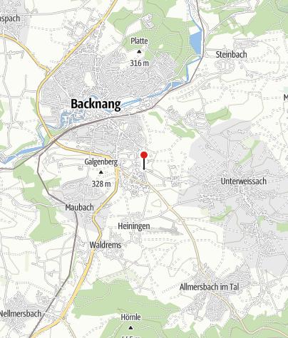 Karte / Backnang Ungeheuerhof Abzw.