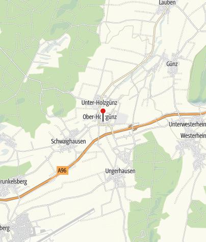 Karte / Schlosskirche St. Simon und Judas Thaddäus, Holzgünz