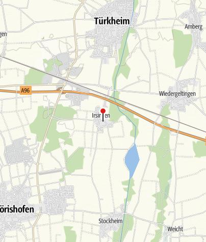 Karte / Pfarrkirche St. Margareta, Irsingen