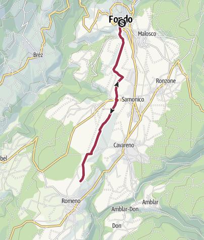 Cartina / Passeggiata ai Pradiei