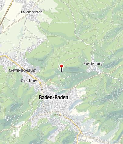 Karte / Baden-Baden Bernharduskapelle