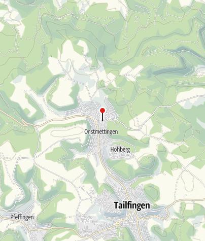 Karte / Onstmettingen Rathaus
