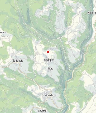 Karte / Rotzingen Oberdorf