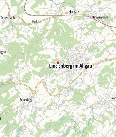Karte / Wohnmobilstellplatz am Waldsee