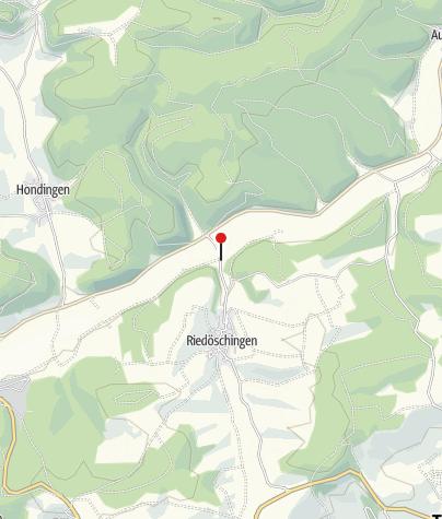 Karte / Riedöschingen Bahnübergang