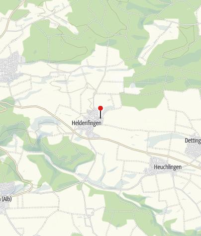 Karte / Heldenfinger Kliff mit Mehrgenerationenspielpark