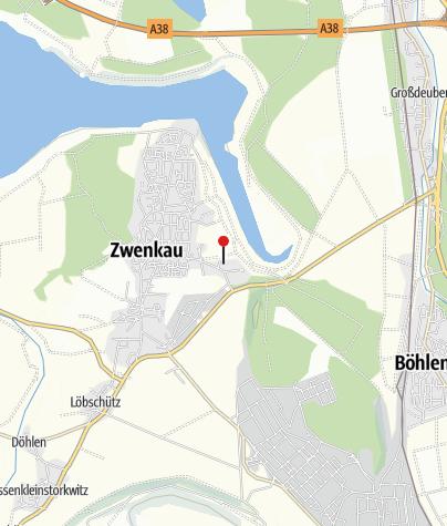 Karte / Seehof Zwenkau