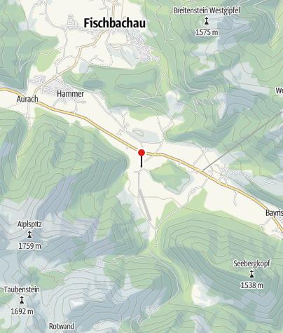 Karte / Aiplspitz, Gasthaus, Pension