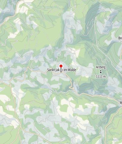 Karte / Kräftereich St. Jakob im Walde