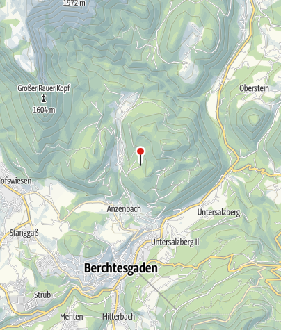 Karte / Berggaststätte Kneifelspitze (Paulshütte)