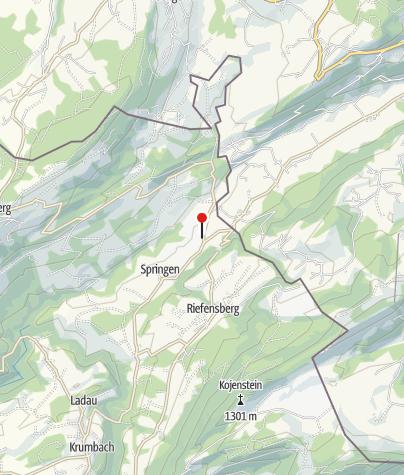 Karte / Golfpark Bregenzerwald