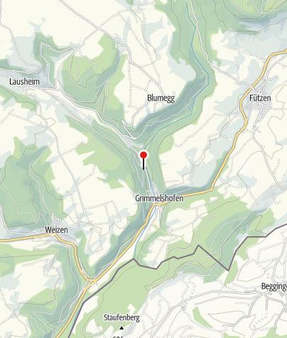 Karte / Gasthaus Wutachschlucht
