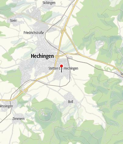 Karte / Heimatmuseum Hechingen-Stetten