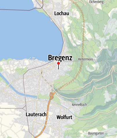 Karte / Martinsturm Bregenz