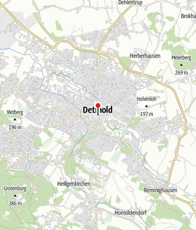 Karte / Historisches Rathaus Detmold