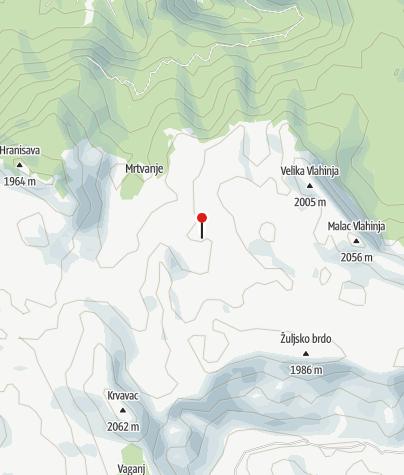 Map / Mountain lodge Sitnik