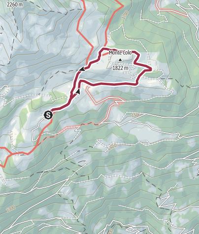 Cartina / Passeggiata Lago Grande