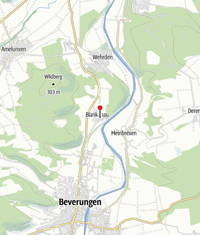 Kaart / Kath. Pfarrkirche St. Joseph von 1714 Blankenau