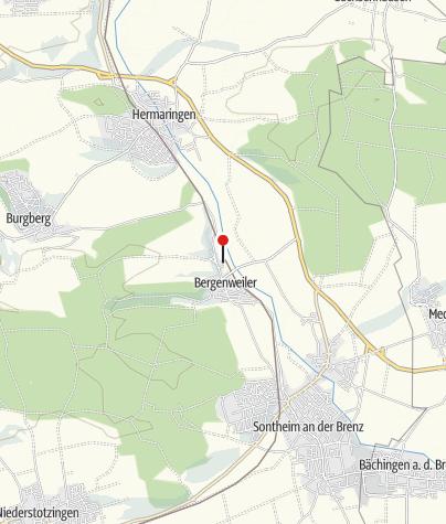Karte / Bahnhof Bergenweiler