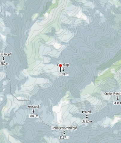 Karte / Hornscharte