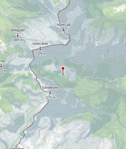 Karte / Unterjochalm