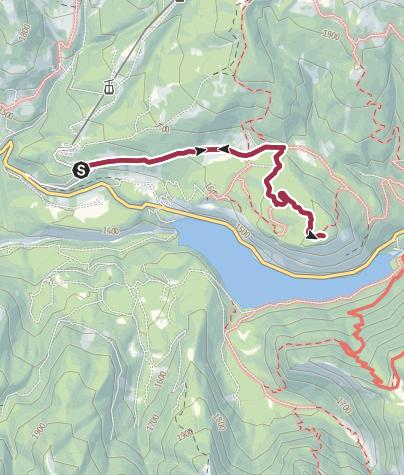 Cartina / Escursione al Forte Dossaccio